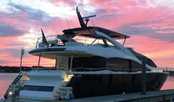 86 YACHT — SUNSEEKER full